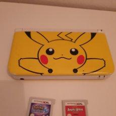 Videojuegos y Consolas Nintendo 3DS XL: NINTENDO 3DS EDICIÓN POKEMON PIKACHU + JUEGOS. Lote 262835950