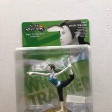Videojuegos y Consolas Nintendo 3DS XL: WII FIT TRAINER SUPER SMASH BROS AMIIBO NEW KREATEN. Lote 284531063