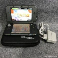 Videojuegos y Consolas Nintendo 3DS XL: NEW 3DS LL JAP METALLIC BLACK+32GB+AC+FUNDA. Lote 287805118