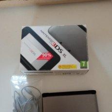 Videojuegos y Consolas Nintendo 3DS XL: NINTENDO 3DSXL PLATA Y NEGRA. Lote 293498033