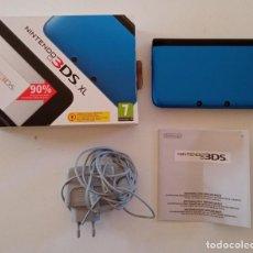 Videojuegos y Consolas Nintendo 3DS XL: NINTENDO 3DSXL AZUL. Lote 293498183