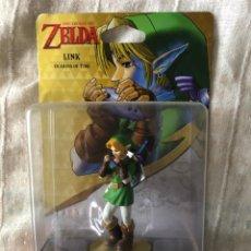 Videojuegos y Consolas Nintendo 3DS XL: THE LEGEND OF ZELDA LINK OCARINA OF TIME AMIIBO NUEVO KREATEN. Lote 294383273