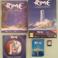 Videojuegos y Consolas Nintendo Switch: RIME COLLECTOR´S EDITION PARA SWITCH EN ESPAÑOL COMO NUEVO. Lote 130076763