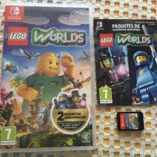 Videojuegos y Consolas Nintendo Switch: LEGO WORLDS NINTENDO SWITCH CAJA EN CASTELLANO COMO NUEVO KREATEN WORLD WORD WORDS. Lote 132911178