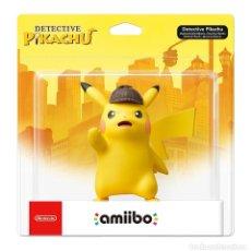 Videojuegos y Consolas Nintendo Switch: AMIIBO DETECTIVE PIKACHU *NUEVO PERFECTO* TAMAÑO XL MÁS GRANDE QUE LOS DEMÁS. Lote 136217770