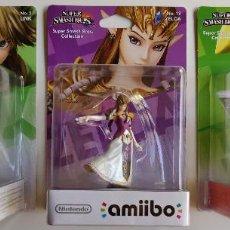 Videojuegos y Consolas Nintendo Switch: PACK DE 3 AMIIBO ZELDA SUPER SMASH BROS Nº 5,13,22. Lote 136218158
