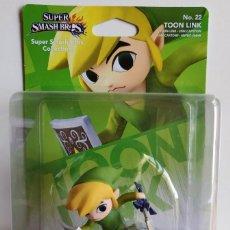 Videojuegos y Consolas Nintendo Switch: AMIIBO TOON LINK LEGEND OF ZELDA SUPER SMASH Nº22. Lote 180847976
