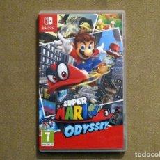 Videojuegos y Consolas Nintendo Switch: SUPER MARIO ODYSSEY, EN PERFECTO ESTADO VER ESP -SWITCH-. Lote 136220238