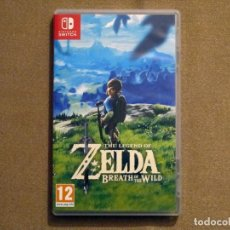 Videojuegos y Consolas Nintendo Switch: THE LEGEND OF ZELDA: BREATH OF THE WILD, EN PERFECTO ESTADO VER ESP -SWITCH-. Lote 136220454