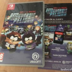 Videojuegos y Consolas Nintendo Switch: SOUTH PARK RETAGUARDIA EN PELIGRO NINTENDO SWITCH KREATENFRACTURED BUT WHOLE. Lote 138656718
