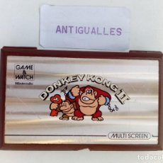 Videojuegos y Consolas Nintendo Switch: CONSOLA NINTENDO GAME&WATCH DONKEY KONG II,MODELO JR-55,SIMILAR SEGA,PSP,WII. Lote 142102962