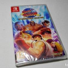 Videojuegos y Consolas Nintendo Switch: STREET FIGHTER 30TH ANNIVERSARY COLLECTION ( NINTENDO SWITCH - PAL - ESP) PRECINTADO!. Lote 146119558
