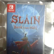 Videojuegos y Consolas Nintendo Switch: SLAIN: BACK FROM HELL. NINTENDO SWITCH. Lote 147625438