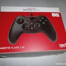 Videojuegos y Consolas Nintendo Switch: MANDO NINTENDO SWITCH CON CABLE NUEVO Y PRECINTADO. Lote 148779474