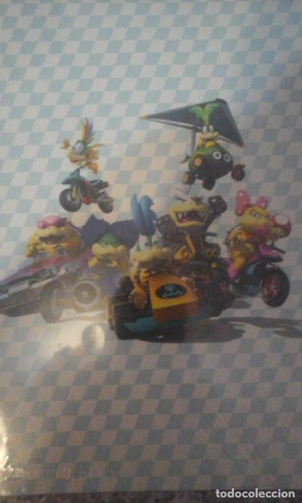 Videojuegos y Consolas Nintendo Switch: Carpeta del Mario Kart 8 - Nueva a estrenar - En su Envoltorio original - Foto 2 - 179521651