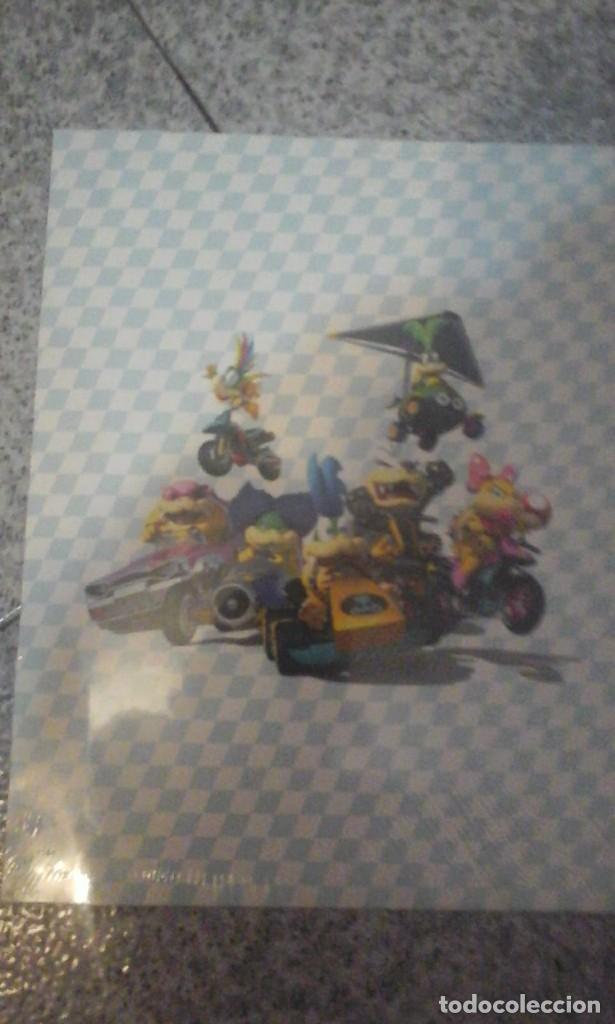 Videojuegos y Consolas Nintendo Switch: Carpeta del Mario Kart 8 - Nueva a estrenar - En su Envoltorio original - Foto 3 - 179521651