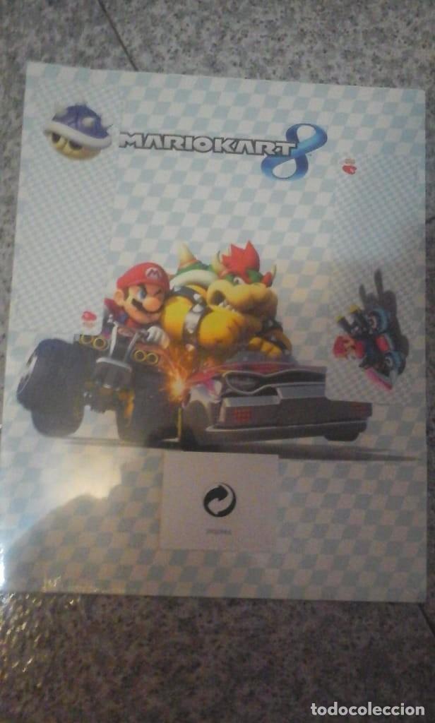 Videojuegos y Consolas Nintendo Switch: Carpeta del Mario Kart 8 - Nueva a estrenar - En su Envoltorio original - Foto 4 - 179521651