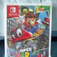 Videojuegos y Consolas Nintendo Switch: GUIA SUPER MARIO ODYSSEY - NINTENDO SWITCH - NUEVA. Lote 151575066