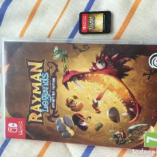 Videojuegos y Consolas Nintendo Switch: RAYMAN LEGENDS DEFINITIVE EDITION NINTENDO SWITCH UBISOFT KREATEN. Lote 155994178