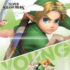 Videojuegos y Consolas Nintendo Switch: AMIIBO YOUNG LINK NIÑO LEGEND OF ZELDA SUPER SMASH Nº 70. Lote 177092845