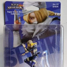 Videojuegos y Consolas Nintendo Switch: AMIIBO SHEIK SUPER SMASH BROS COLLECTION Nº 23. Lote 161512034