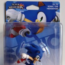 Videojuegos y Consolas Nintendo Switch: AMIIBO SONIC THE HEDGEHOG SUPER SMASH BROS COLLECTION Nº 26. Lote 161512118
