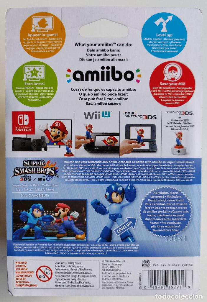 Videojuegos y Consolas Nintendo Switch: AMIIBO MEGAMAN SUPER SMASH BROS COLLECTION Nº 27 - Foto 2 - 161512282