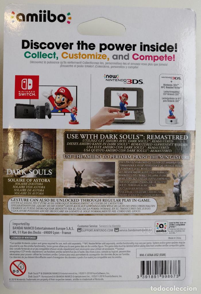 Videojuegos y Consolas Nintendo Switch: AMIIBO Solaire de Astora - Dark Souls - Foto 2 - 161512386