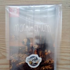 Videojuegos y Consolas Nintendo Switch: MACHINARIUM NINTENDO SWITCH - SUPER RARE GAME 17 - PRECINTADO - 5000 COPIAS EN EL MUNDO. Lote 169356528