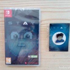 Videojuegos y Consolas Nintendo Switch: STAY - SWITCH - PRECINTADO - 3000 COPIAS EN EL MUNDO. Lote 173087598
