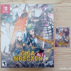 Videojuegos y Consolas Nintendo Switch: GIGA WRECKER ALT. COLLECTOR'S EDITION NINTENDO SWITCH - PRECINTADO - 2000 COPIAS EN EL MUNDO. Lote 177431540