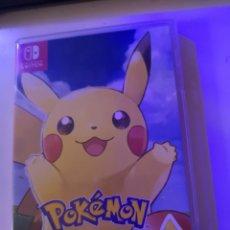 Videojuegos y Consolas Nintendo Switch: POKÉMON LET'S GO PIKACHU JUEGO. Lote 177612268