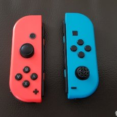 Videojuegos y Consolas Nintendo Switch: NINTENDO SWITCH MANDO JOYCON SET COLOR AZUL Y ROJO. Lote 180840473