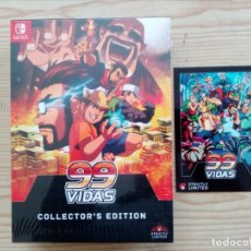 Videojuegos y Consolas Nintendo Switch: 99 VIDAS COLLECTOR'S EDITION NINTENDO SWITCH - PRECINTADO - 800 COPIAS EN EL MUNDO. Lote 181425772