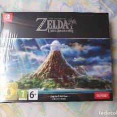 Videojuegos y Consolas Nintendo Switch: EDICIÓN LIMITADA THE LEGEND OF ZELDA LINK'S AWAKENING PARA SWITCH NUEVA. Lote 183257085