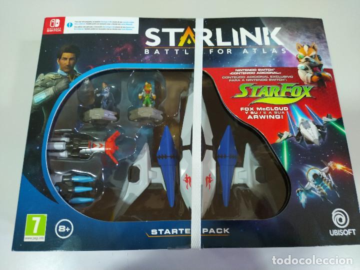 STARLINK BATTLE FOR ATLAS STARTER PACK NINTENDO SWITCH FIGUARAS JUEGO NUEVO (Juguetes - Videojuegos y Consolas - Nintendo - Switch)