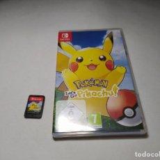 Videojuegos y Consolas Nintendo Switch: POKEMON LET´S GO PIKACHU! ( NINTENDO SWITCH) ( GERMANY). Lote 195230773