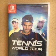Videojuegos y Consolas Nintendo Switch: JUEGO TENNIS WORLD TOUR PARA NINTENDO SWITCH, PAL ESPAÑA NUEVO PRECINTADO. Lote 195669577
