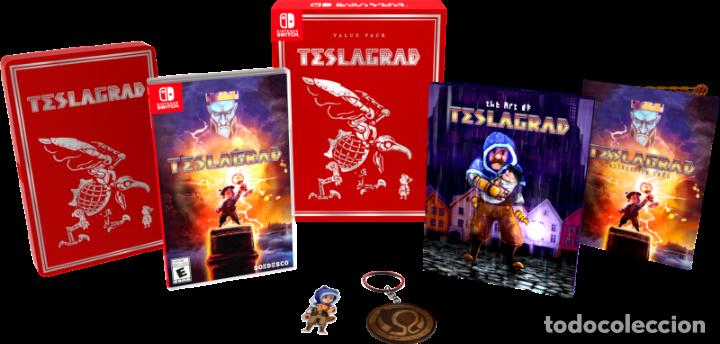 Videojuegos y Consolas Nintendo Switch: Juego TESLAGRAD VALUE PACK para NINTENDO SWITCH, Pal EUROPA Nuevo Precintado SOEDESCO - Foto 2 - 195669891