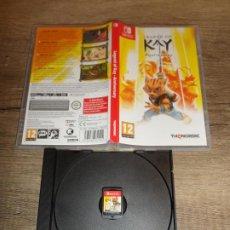 Videojuegos y Consolas Nintendo Switch: NINTENDO SWITCH LEGEND OF KAY ANNIVERSARY PAL ESP COMPLETO. Lote 199581991