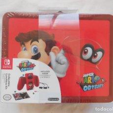 Videojuegos y Consolas Nintendo Switch: SUPER MARIO ODYSSEY COLLECTIVE LUCHBOX SET NINTENDO SWITCH NUEVO. Lote 199884323