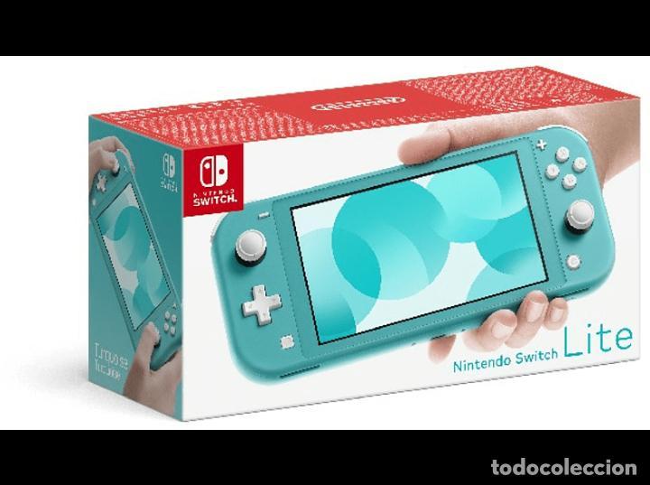 NINTENDO SWITCH LITE - AZUL TURQUESA - NUEVA DE 4/2020 - SIN ESTRENAR - SE REGALA JUEGO (Juguetes - Videojuegos y Consolas - Nintendo - Switch)