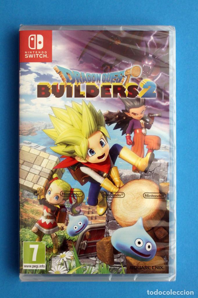 NINTENDO SWITCH - DRAGON QUEST BUILDERS 2 - PRECINTADO (Juguetes - Videojuegos y Consolas - Nintendo - Switch)