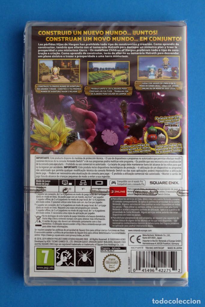 Videojuegos y Consolas Nintendo Switch: Nintendo Switch - Dragon Quest Builders 2 - Precintado - Foto 2 - 204165038