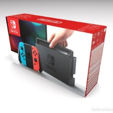 Videojuegos y Consolas Nintendo Switch: CAJA NINTENDO SWITCH REPRODUCCIÓN (NO INCLUYE LA CONSOLA). Lote 204712408