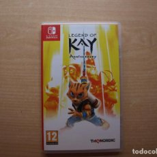 Videojuegos y Consolas Nintendo Switch: LEGEND OF KAY ANNIVERSARY - NUEVO. Lote 205358643