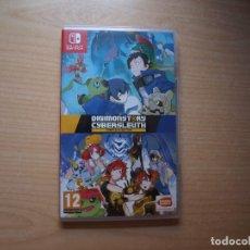 Videojuegos y Consolas Nintendo Switch: DIGIMON STORY : CYBER SLEUTH COMPLETE EDITION - NUEVO. Lote 205530892