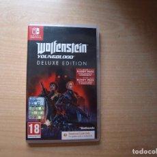 Videojuegos y Consolas Nintendo Switch: WOLFENSTEIN YOUNGBLOOD DELUXE EDITION - NUEVO. Lote 205533051