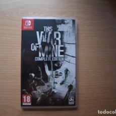 Videojuegos y Consolas Nintendo Switch: THIS WAR OF MINE COMPLETE EDITION - NUEVO. Lote 205534147