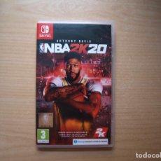 Videojuegos y Consolas Nintendo Switch: ANTHONY DAVIS NBA2K20 - NUEVO. Lote 205535687